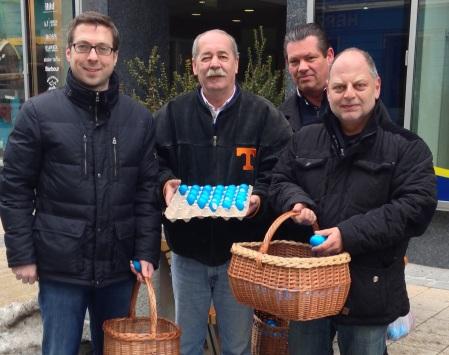 Klaus Otzelberger wünscht Ihnen frohe Ostern!