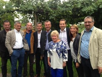 NR-Präsident Hofer bei FPÖ Vorstand
